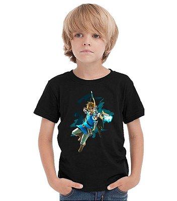 Camiseta Infantil Zelda
