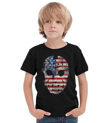 Camiseta Infantil Jason American