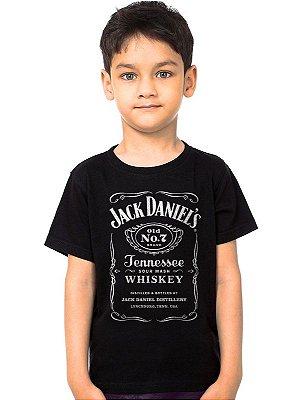Camiseta Infantil Jack Daniels