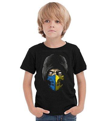 Camiseta Infantil Scorpion