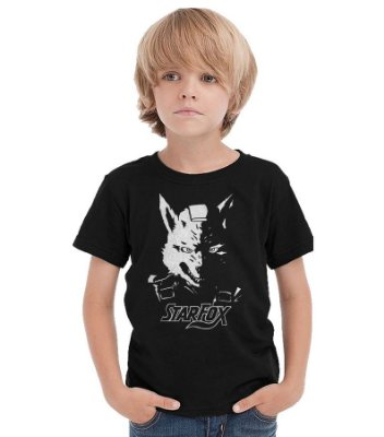 Camiseta Infantil Star Fox