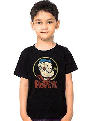 Camiseta Infantil Popeye