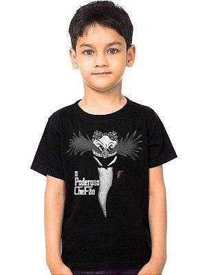 Camiseta Infantil Robotnik O Poderoso Chefão