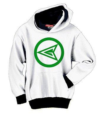 Blusa com Capuz Lanterna Verde