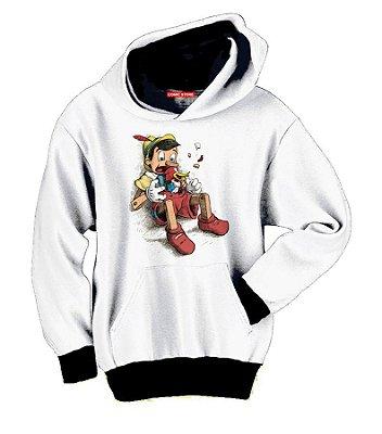 Blusa com Capuz Pinoquio