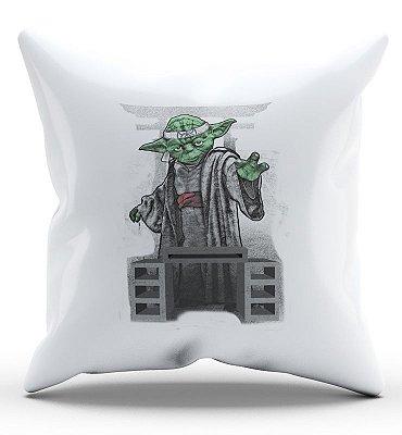 Almofada Yoda Mestre 45x45
