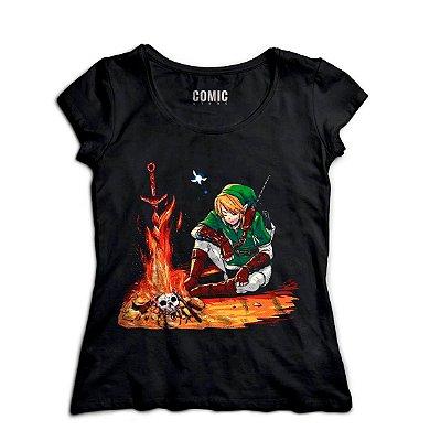 Camiseta Feminina Link - Zelda