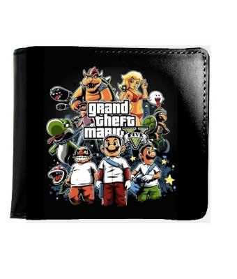 Carteira  Grand Theft Mario