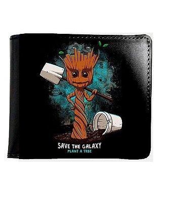 Carteira Groot - Guardiões das Galaxia