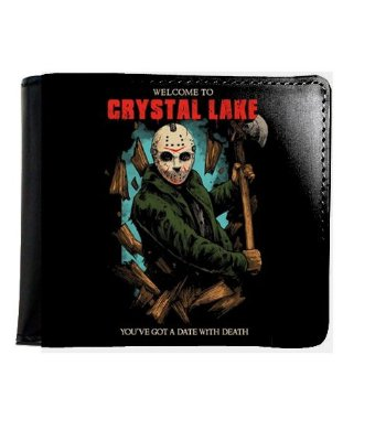 Carteira Jason Crystal Lake