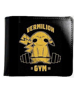 Carteira Pokemon Vermilion Gym