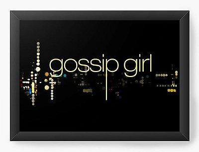 Quadro Decorativo Gossip Girl