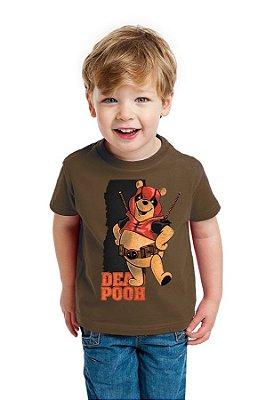Camiseta Infantil Dead Pooh