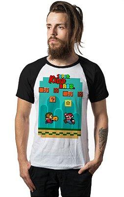 Camiseta Raglan Super Kidd Bros