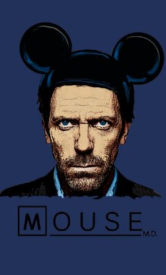 Camiseta  Dr House: Mouse