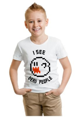 Camiseta Infantil I see dead people