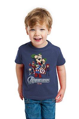 Camiseta Infantil  Herois