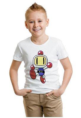 Camiseta Infantil  Bomberman