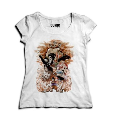 Camiseta Feminina One Piece