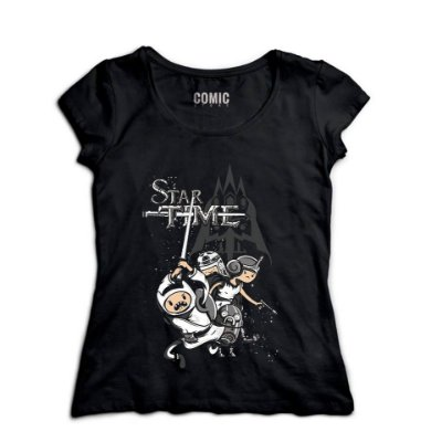 Camiseta Feminina Star Time