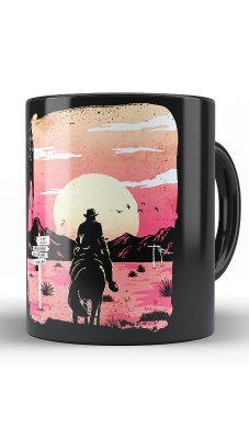 Caneca Red Dead Redemption Way to Nowhere