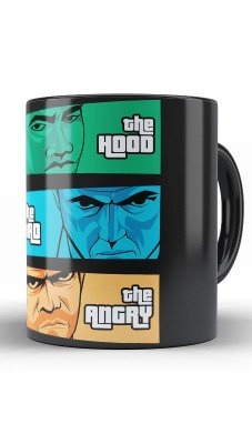 Caneca the Hood, the Dad & the Angry