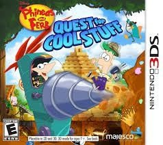 Phineas And Ferb: Quest For Cool Stuff - 3Ds