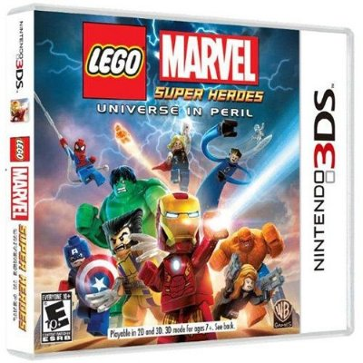 Lego Marvel Br - 3Ds