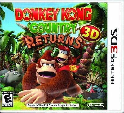 Donkey Kong: Country Returns 3D - 3Ds