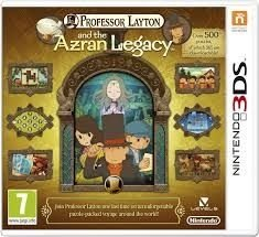 Professor Layton And The Azran Legacy - 3Ds