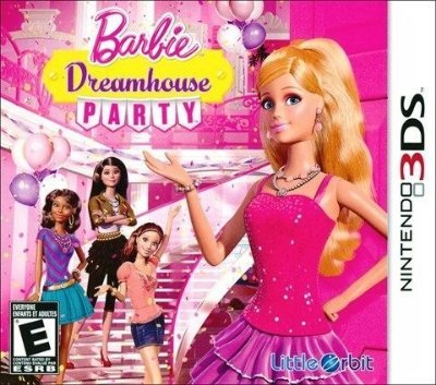 Barbie Dreamhouse - Party - 3Ds