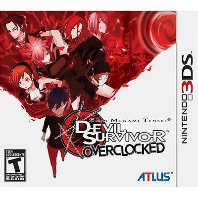 Shin Megami Tensei: Devil Survivor Overclocked Atlus - 3Ds