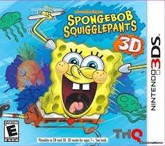 Spongebob Squigglepants 3D - 3Ds