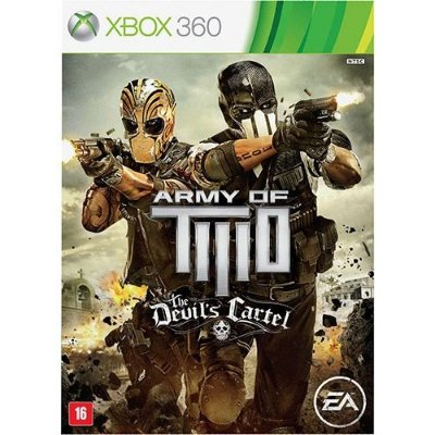 Army Of Two: The Devils Cartel Br - Xbox360