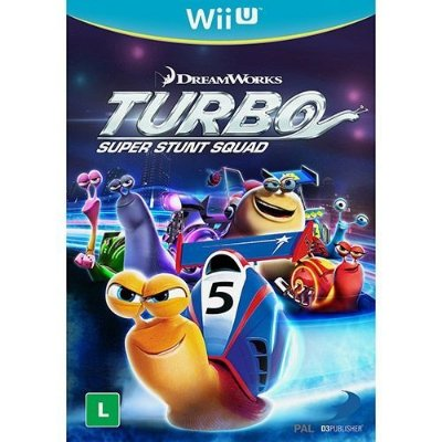 Turbo: Super Stunt Squad - Wii U