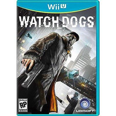 Watch Dogs (Versão Em Português) - Wiiu