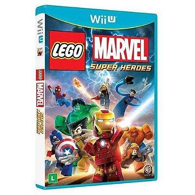 Lego Marvel Br - Wii U
