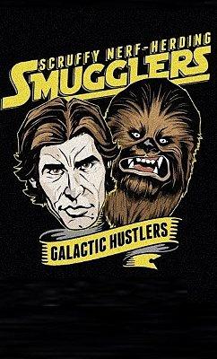 Camiseta Star Wars Han Solo  Hunstlers