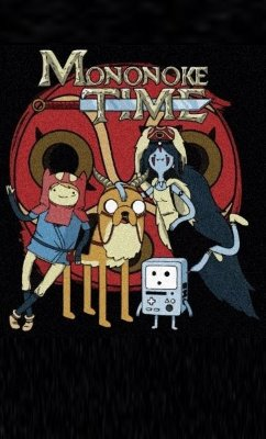 Camiseta Mononoke Time