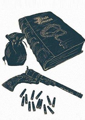 Camiseta Supernatural  Hunter's Tools of the Trade