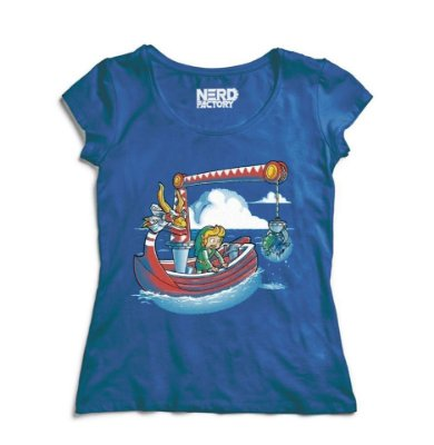Camiseta The Legend Of Zelda The Wind Waker