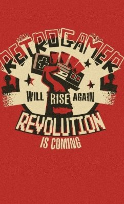 Camiseta Retro Gamer Revolution