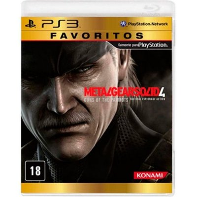 Metal Gear Solid 4: Favoritos - Ps3
