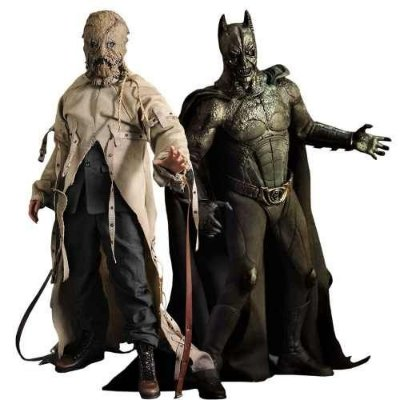 Batman Begins Demon & Scarecrow 10º Aniversario