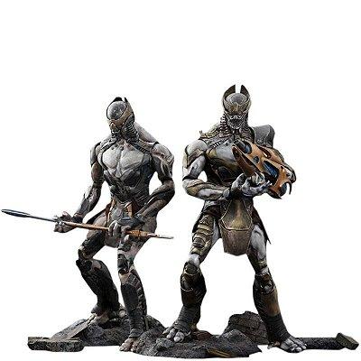 Chitauri Footsoldier & Commander Set - Hot Toys(Mms228) 1:6