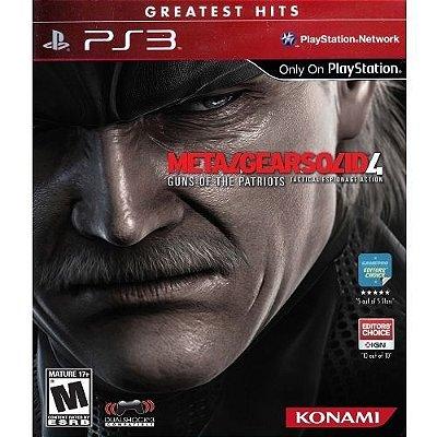 Ps3 - Metal Gear Solid 4: Guns Of The Patriots