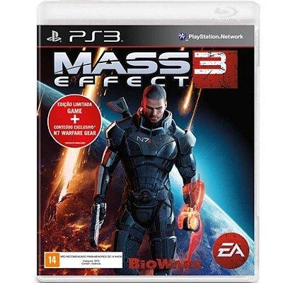 Mass Effect 3 Edição Limitada