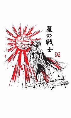 Camiseta  Star Wars Darth Vader Samurai