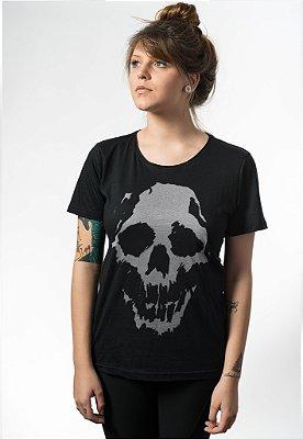 Camiseta Caveira Fantasma