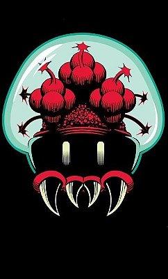 Camiseta Metroid Mushroom